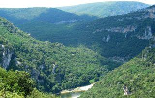 Les Gorges de l'Ardècheà pied